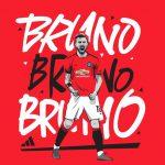 Bruno Fernandes Manchester United Wallpaper Handphone HD