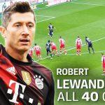 40 Gol Robert Lewandowski Di Bundesliga Jerman 2020/21