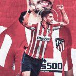 Luis Suarez Atletico Madrid Wallpaper Handphone HD