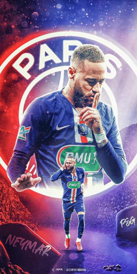 Neymar jr PSG Wallpaper Handphone