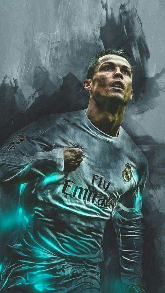 Wallpaper Cristiano Ronaldo Real Madrid