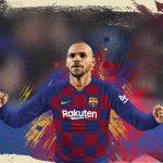 Martin Braithwaite Pemain Yang Menggantikan Lionel Messi di Barcelona FC