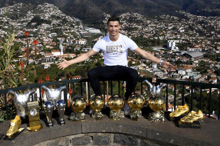 Prestasi Cristiano Ronaldo sepanjang karir